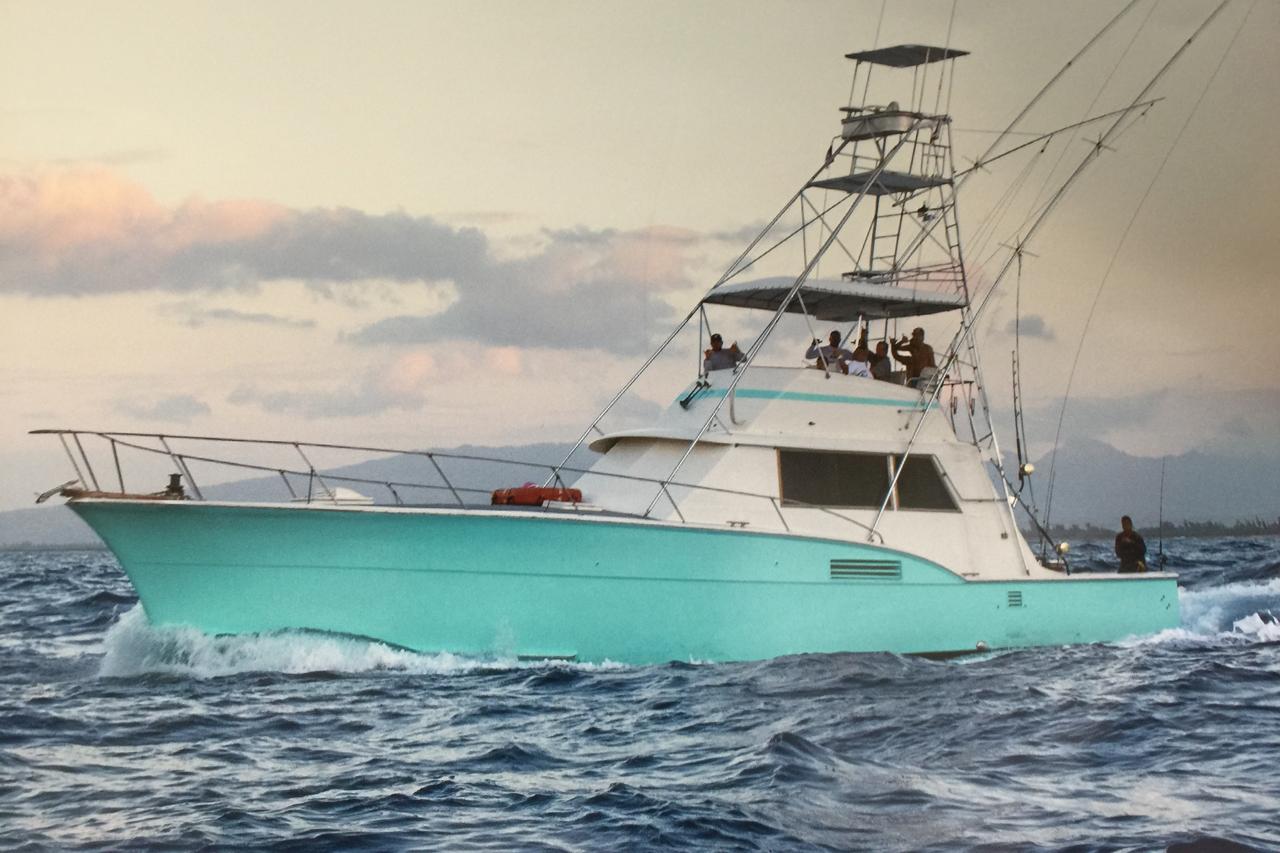 Strikeology deep sea fishing charter fishing for Fishing charters oahu